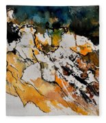 Abstract 210152 Fleece Blanket