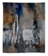 Abstract 213030 Fleece Blanket