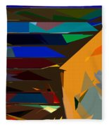 Abstract 22 Fleece Blanket