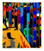 Abstract 26 Fleece Blanket
