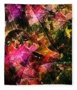 Abstract 270 Fleece Blanket
