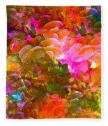 Abstract 271 Fleece Blanket