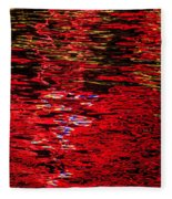 Abstract 296 Fleece Blanket