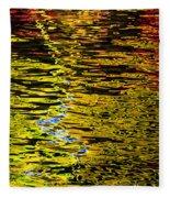Abstract 301 Fleece Blanket