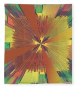 Abstract 4 Fleece Blanket