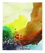 Abstract 5 Fleece Blanket