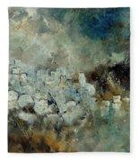 Abstract 66210101 Fleece Blanket