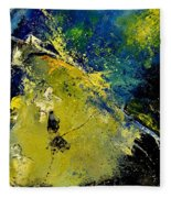 Abstract 66217090 Fleece Blanket