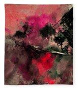 Abstract 69210102 Fleece Blanket