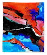 Abstract 69212022 Fleece Blanket