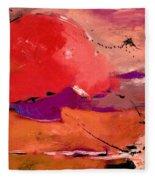 Abstract 695623 Fleece Blanket