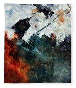 Abstract 881101 Fleece Blanket