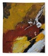 Abstract 88119011 Fleece Blanket