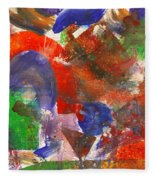 Abstract - Acrylic - Synthesis Fleece Blanket