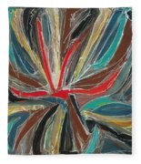 Abstract Art Sixteen Fleece Blanket