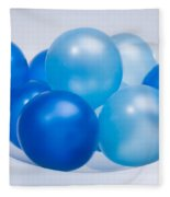 Abstract Balloon Fleece Blanket