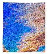 Abstract Dimensional Art Fleece Blanket