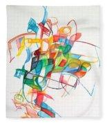 Elul 5 Fleece Blanket
