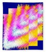 Abstract Fusion 127 Fleece Blanket