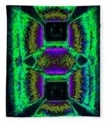 Abstract Fusion 139 Fleece Blanket