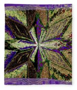 Abstract Fusion 145 Fleece Blanket
