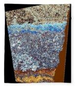 Abstract Fusion 153 Fleece Blanket