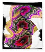 Abstract Fusion 154 Fleece Blanket