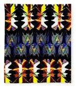 Abstract Fusion 156  Fleece Blanket
