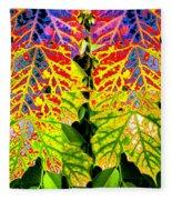 Abstract Fusion 16 Fleece Blanket
