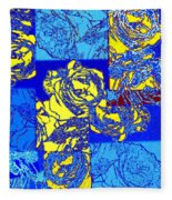 Abstract Fusion 22 Fleece Blanket