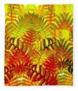 Abstract Fusion 23 Fleece Blanket