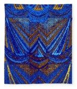 Abstract Fusion 59 Fleece Blanket