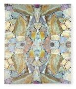 Abstract Fusion 67 Fleece Blanket
