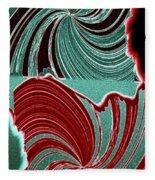 Abstract Fusion 88 Fleece Blanket