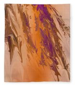Abstract In July Fleece Blanket