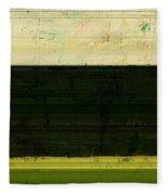 Abstract Landscape - The Highway Series Ll Fleece Blanket