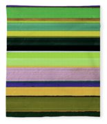 Abstract Landscape - The Highway Series Lll Fleece Blanket