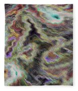 Abstract Pastel Art Fleece Blanket