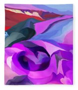 Abstract041712 Fleece Blanket