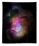 Abstract110111b Fleece Blanket