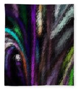 Abstracted 090611a Fleece Blanket