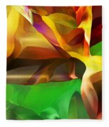 Abstraction 091412 Fleece Blanket