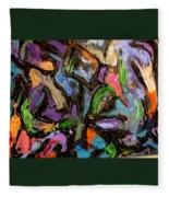 Abstrak Fleece Blanket