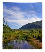 Acadian Marsh Fleece Blanket
