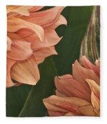Adalee's Petals Fleece Blanket
