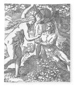 Adam & Eve Fleece Blanket