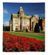 Adare Manor, County Limerick, Ireland Fleece Blanket