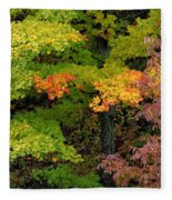 Adirondack Autumn Fleece Blanket