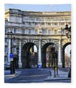 Admiralty Arch In Westminster London Fleece Blanket