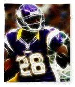 Adrian Peterson 02 - Football - Fantasy Fleece Blanket